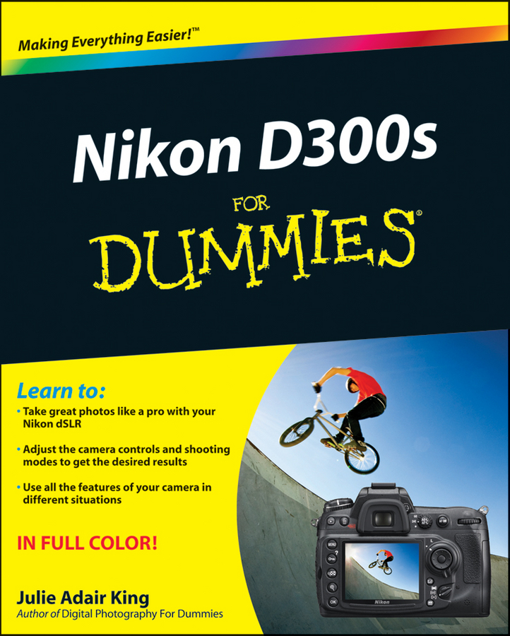 Julie Adair King Nikon D300s For Dummies julie adair king nikon d7500 for dummies