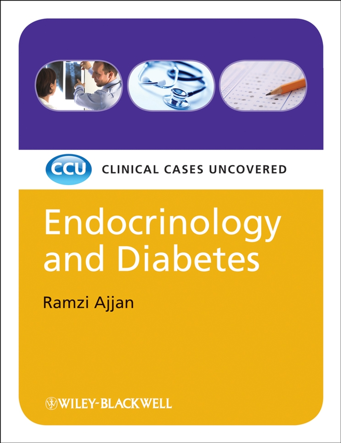 Ramzi Ajjan Endocrinology and Diabetes, eTextbook. Clinical Cases Uncovered endocrine organ model model of human organs pituitary thyroid adrenal testicular endocrinology teaching model