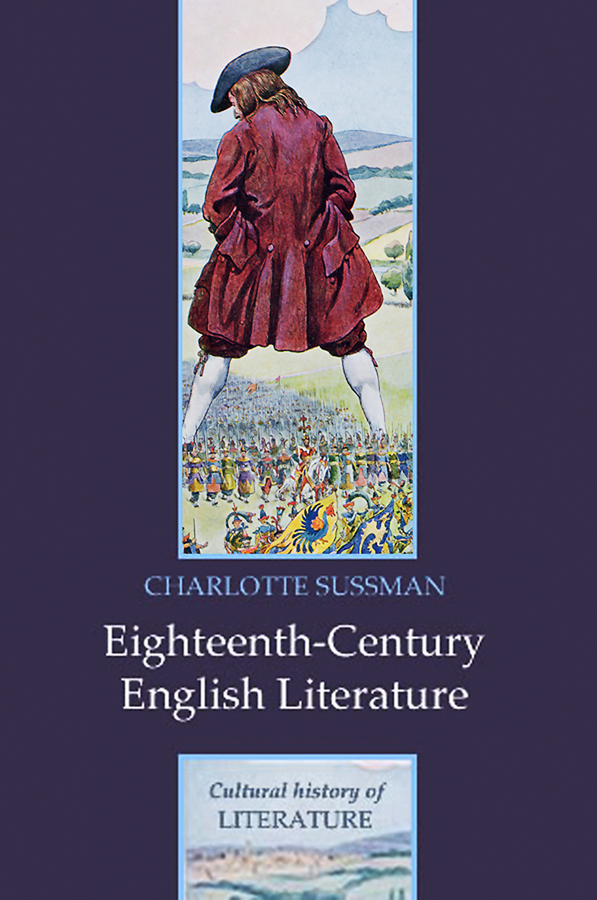 Charlotte Sussman Eighteenth Century English Literature