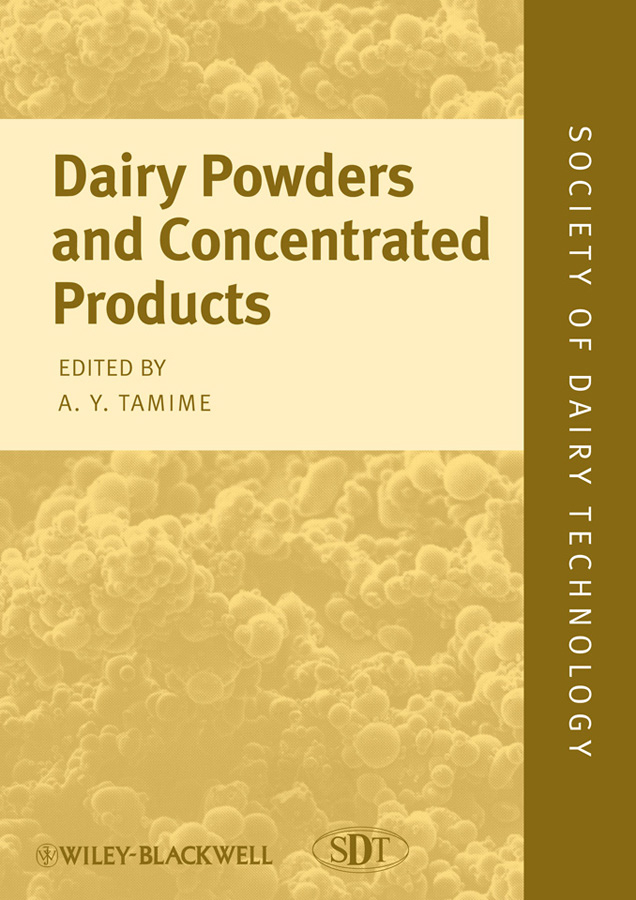 Adnan Tamime Y. Dairy Powders and Concentrated Products dairy development in chittoor district