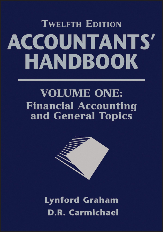 Graham Lynford Accountants' Handbook, Financial Accounting and General Topics accounting principles for lawyers law practitioner series