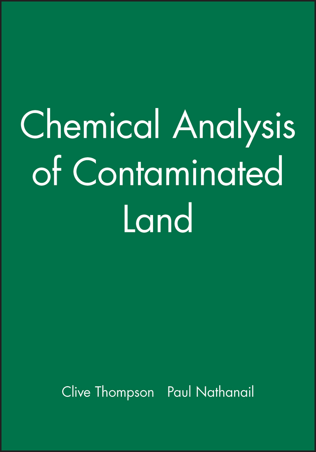 Nathanail Paul Chemical Analysis of Contaminated Land physico chemical analysis of water of balco area