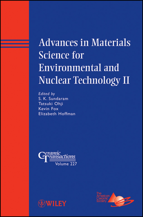 Tatsuki Ohji Advances in Materials Science for Environmental and Nuclear Technology II