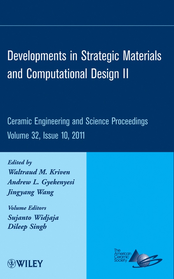 Dileep Singh Developments in Strategic Materials and Computational Design II mirza bichurin vladimir petrov modeling of magnetoelectric effects in composites