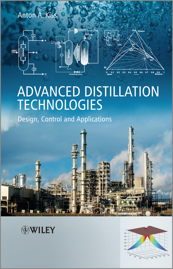 Anton Kiss A. Advanced Distillation Technologies. Design, Control and Applications new 4 od105mm ss304 bubble plate for 4 distillation column home brewing distillation reflux column moonshine