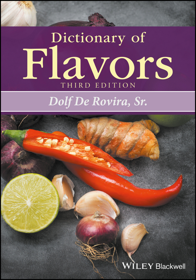 цены Dolf De Rovira, Sr. Dictionary of Flavors