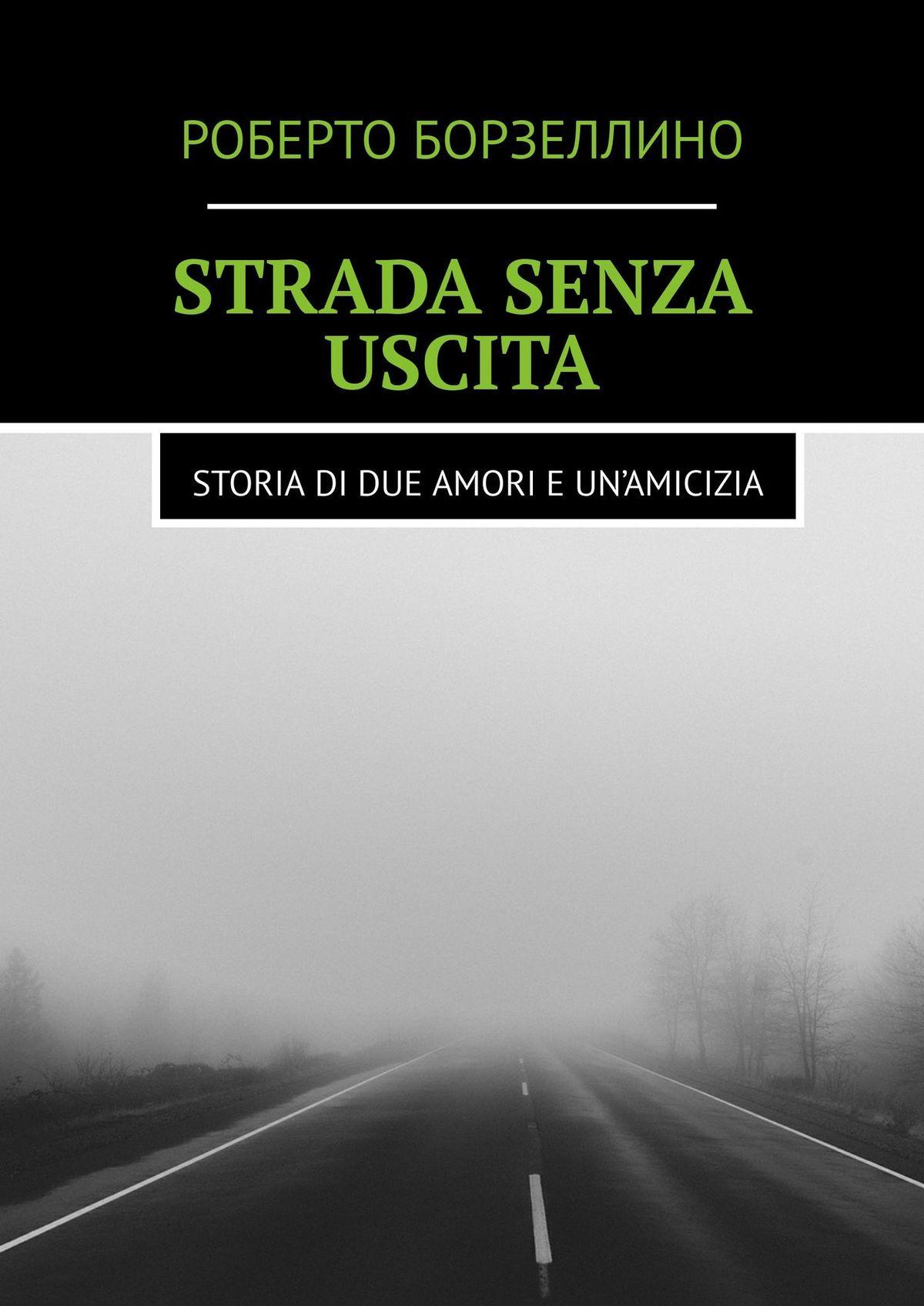 Роберто Борзеллино Strada senza uscita. Storia di due amori e un'amicizia