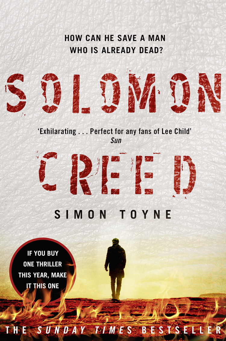 Simon Toyne Solomon Creed: The only thriller you need to read this year a hedges the temple of solomon op 78