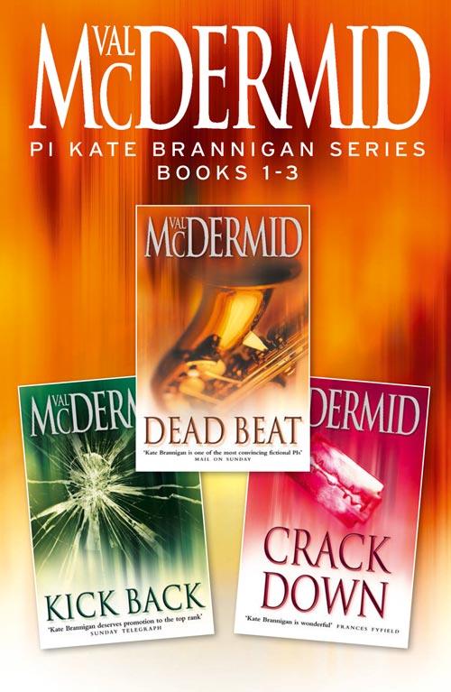 Фото - Val McDermid PI Kate Brannigan Series Books 1-3: Dead Beat, Kick Back, Crack Down contrast lace keyhole back blouse