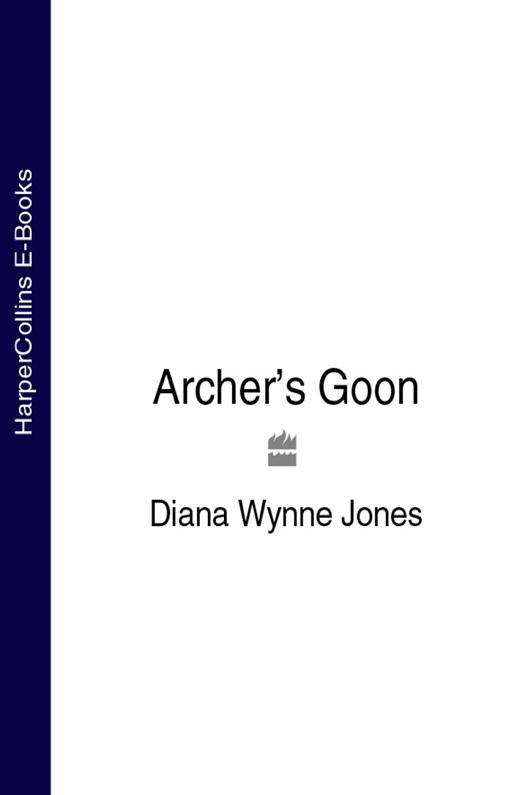 Diana Wynne Jones Archer's Goon stick dog tries to take the donuts