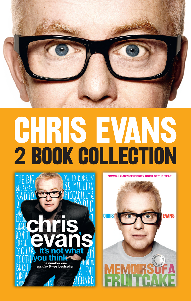 цена Chris Evans It's Not What You Think and Memoirs of a Fruitcake 2-in-1 Collection онлайн в 2017 году