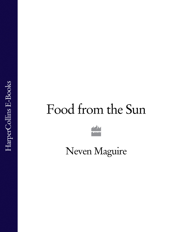 Neven Maguire Food from the Sun slimming world food with family