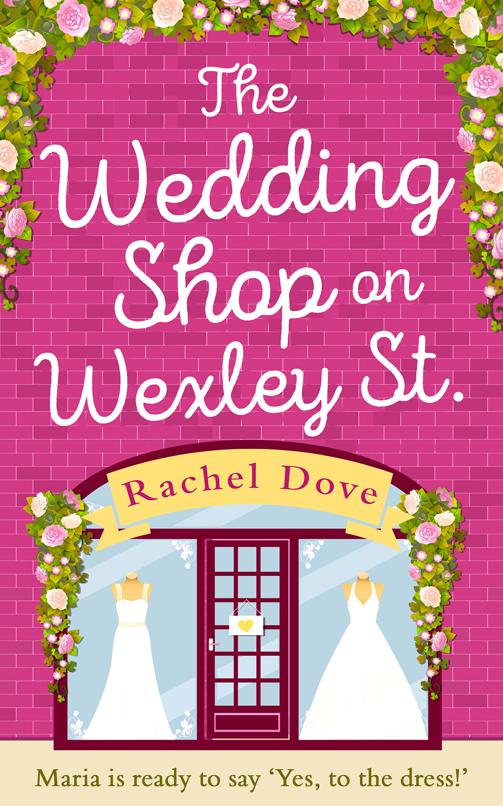 Rachel Dove The Wedding Shop on Wexley Street: A laugh out loud romance to curl up with in 2018 hook up cut out corset with panties