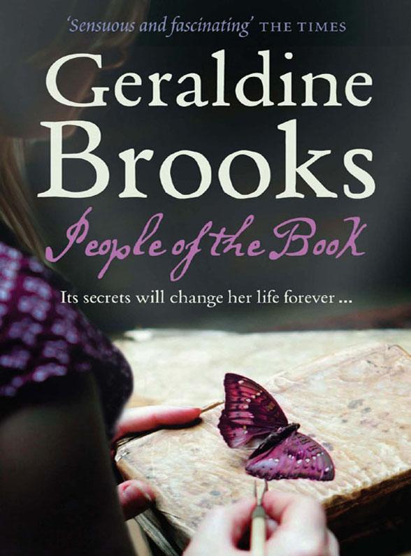 Geraldine Brooks People of the Book geraldine brooks year of wonders