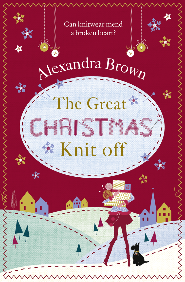 Alexandra Brown The Great Christmas Knit Off lumion бра lumion ponso 3408 1w