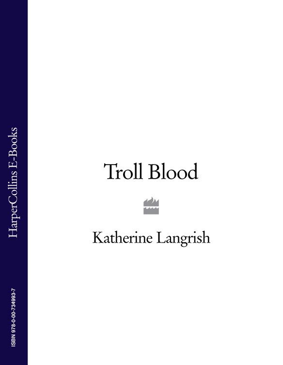 Katherine Langrish Troll Blood цена