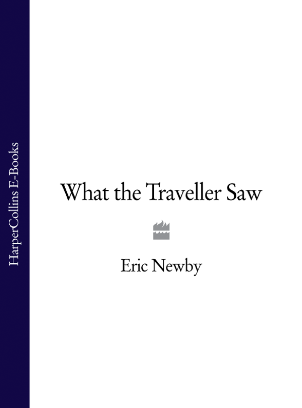 Eric Newby What the Traveller Saw anderson s classic woven textile navy