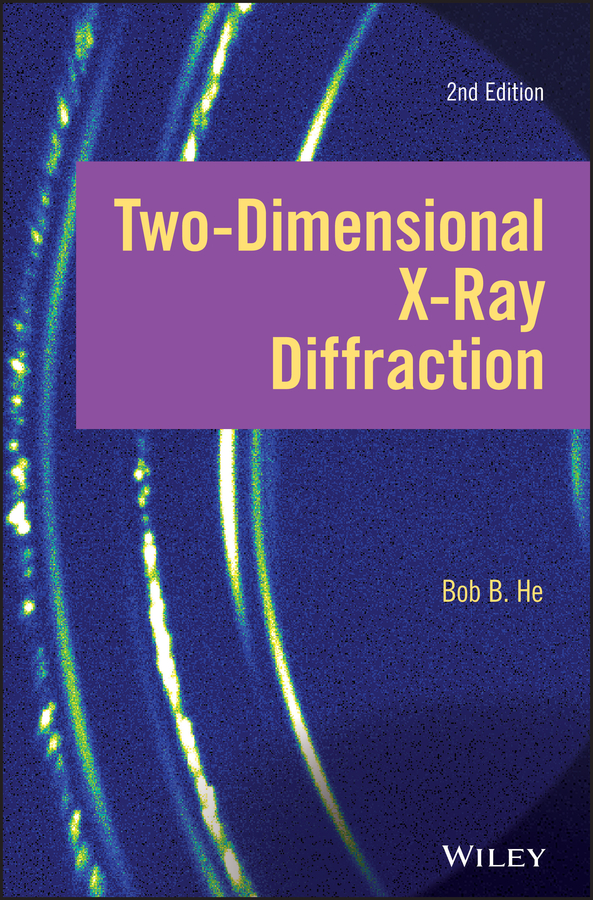 Bob He B. Two-dimensional X-ray Diffraction dvd blu ray