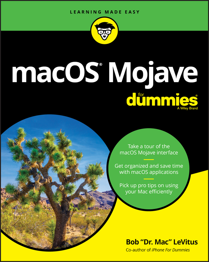 Bob LeVitus macOS Mojave For Dummies bob levitus ipad 2 for dummies