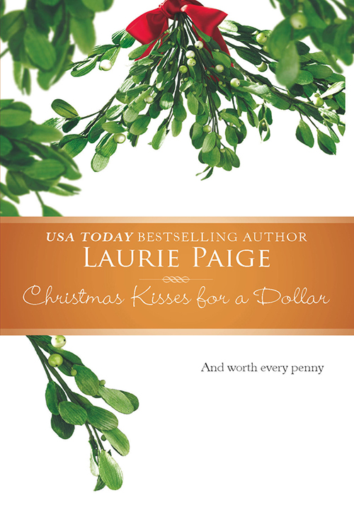 Laurie Paige Christmas Kisses For A Dollar florist grump
