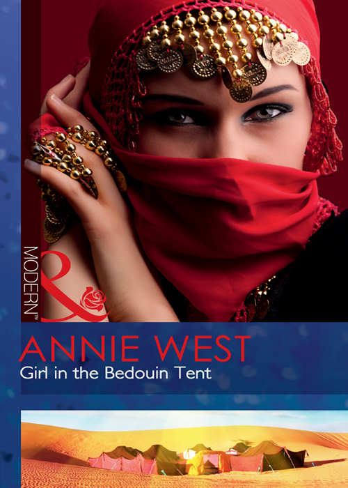 Annie West Girl in the Bedouin Tent
