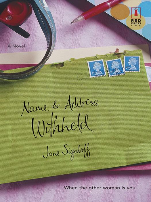 Jane Sigaloff Name and Address Withheld