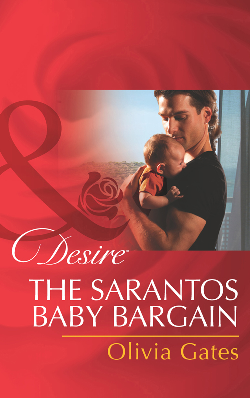 Olivia Gates The Sarantos Baby Bargain цена и фото