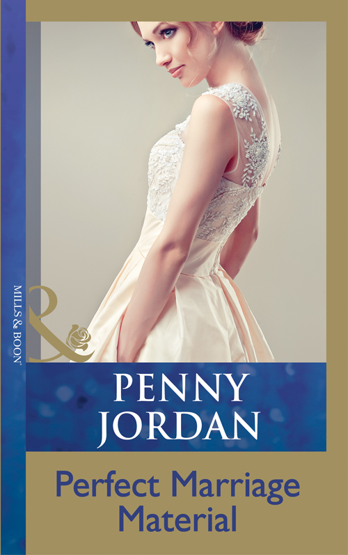 PENNY JORDAN Perfect Marriage Material knitting the perfect fit