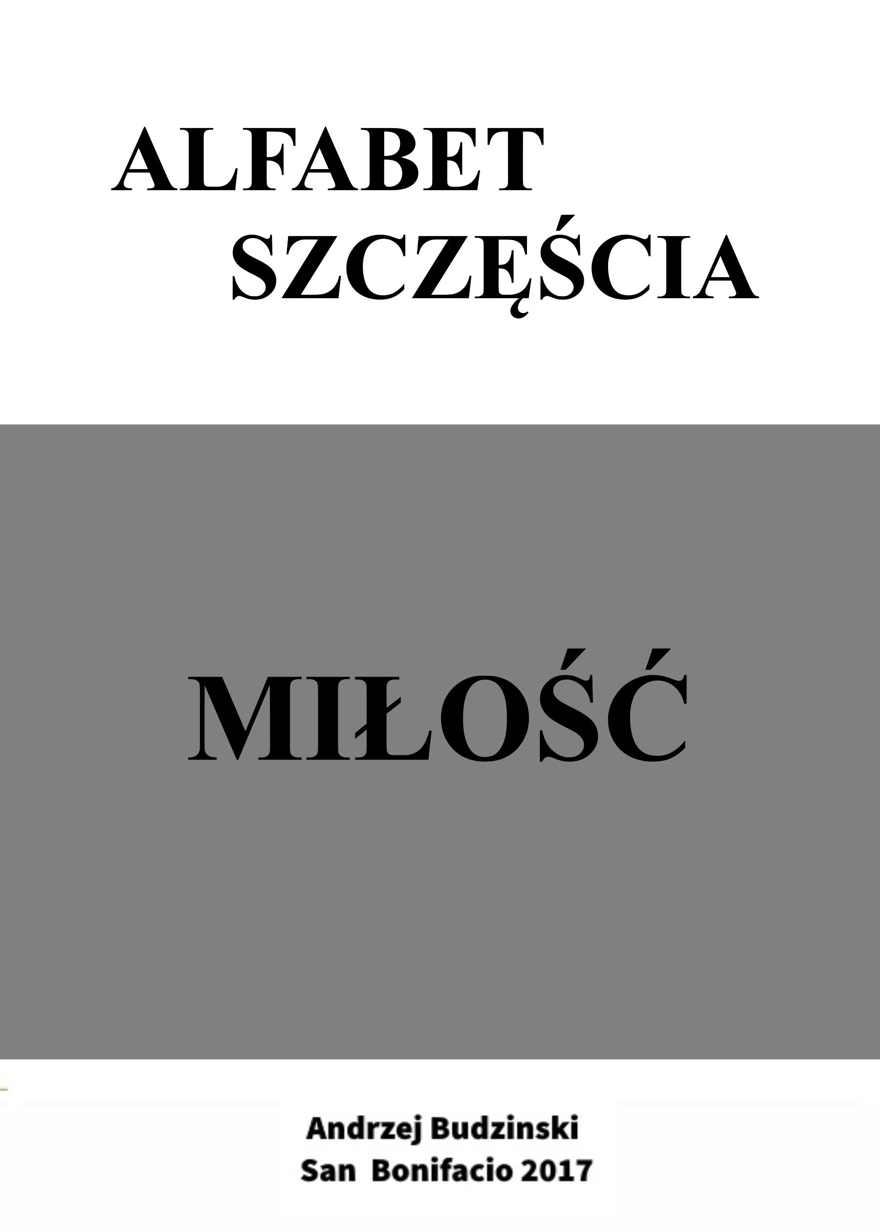 цена на Andrzej Stanislaw Budzinski Alfabet Szczęścia