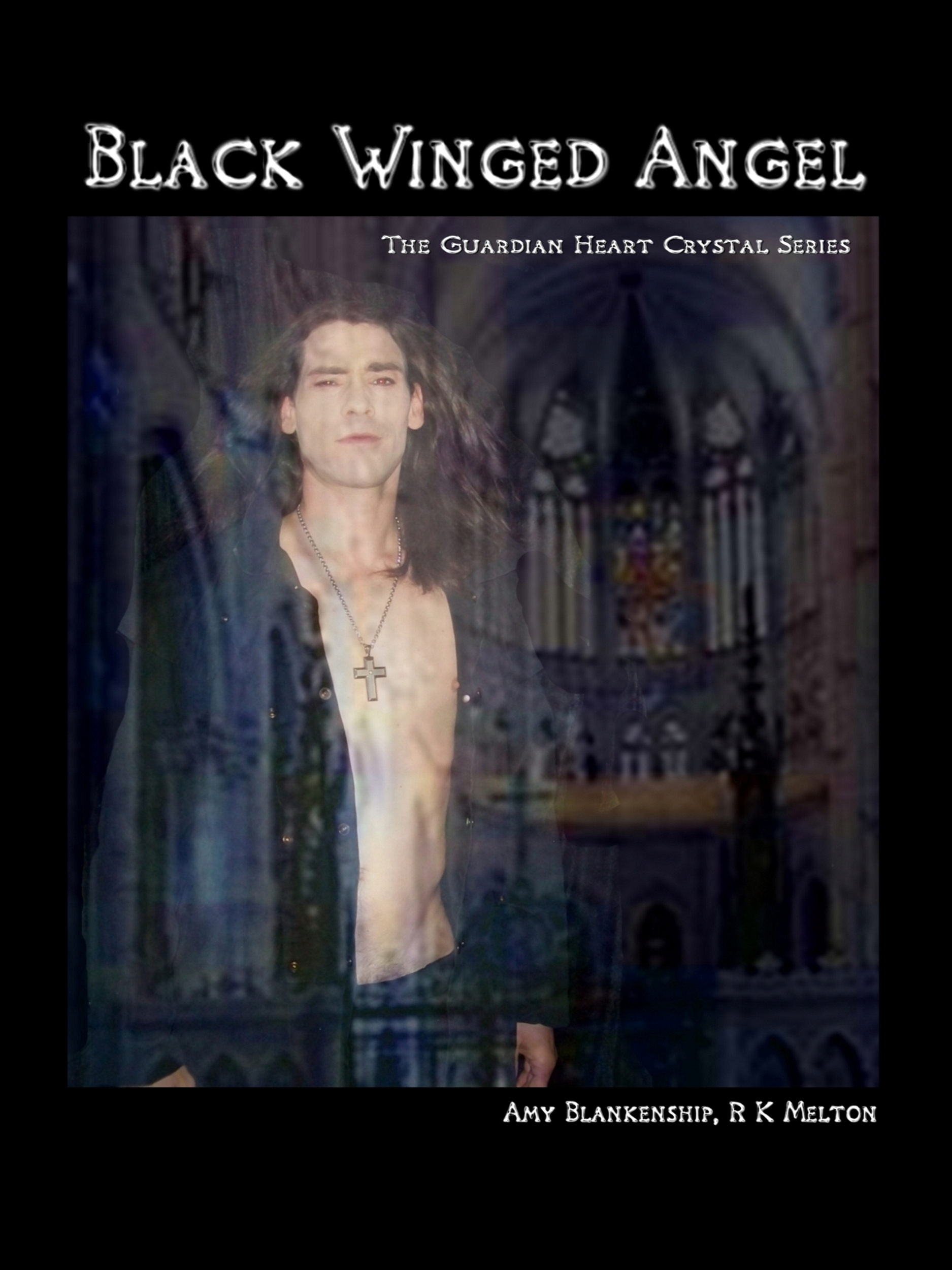 Amy Blankenship Black Winged Angel кальян amy deluxe 630d 01 glorious click black black