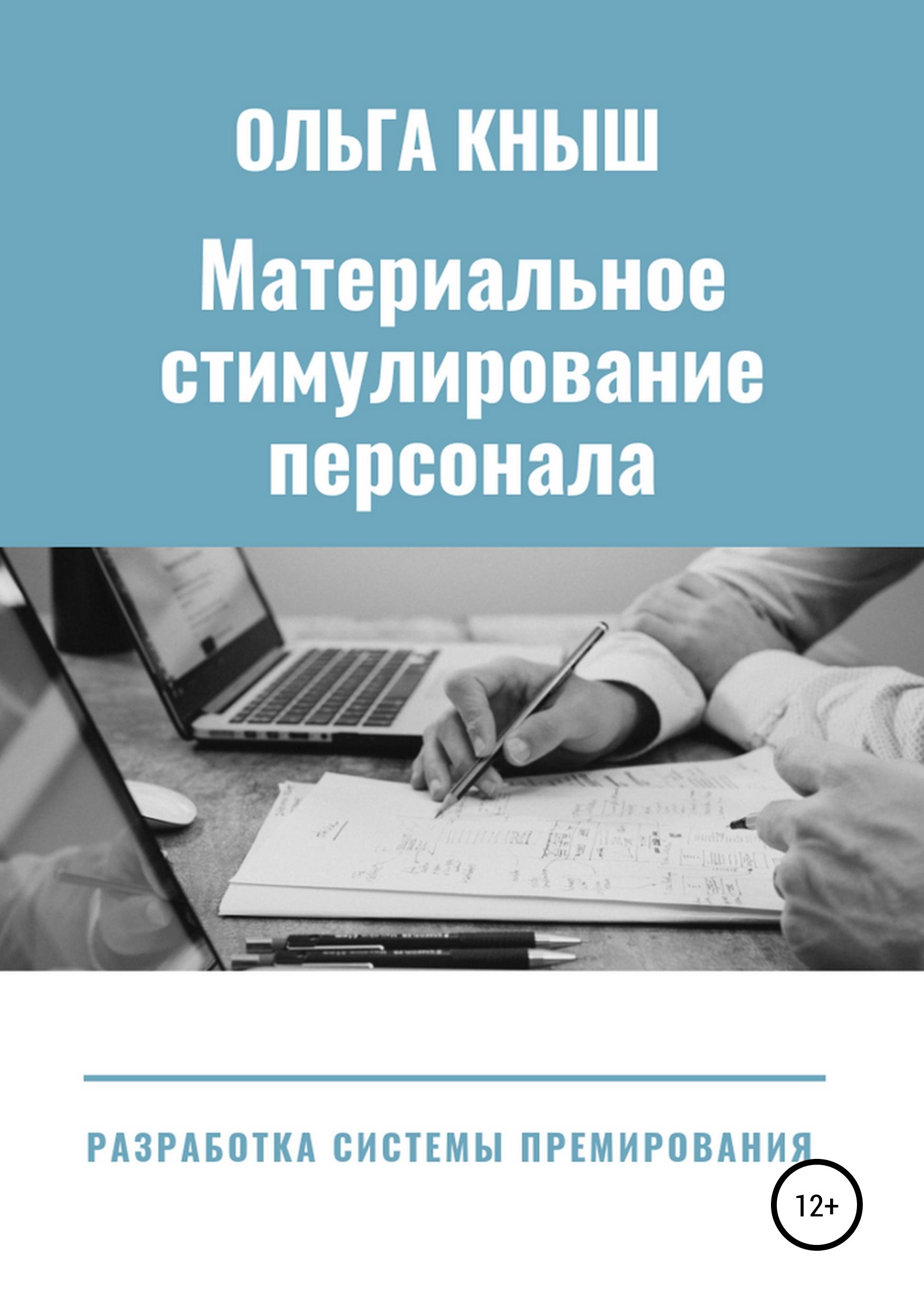 Обложка книги Материальное стимулирование персонала. Разработка премиальной системы
