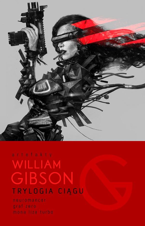 William Gibson Trylogia Ciągu: gibson 2018 j 15 antique natural