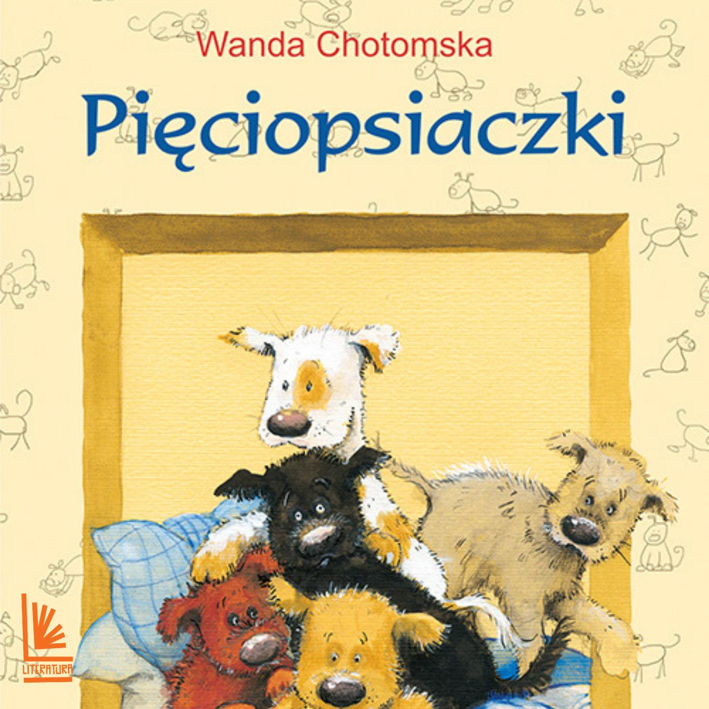 цена на Wanda Chotomska Pięciopsiaczki