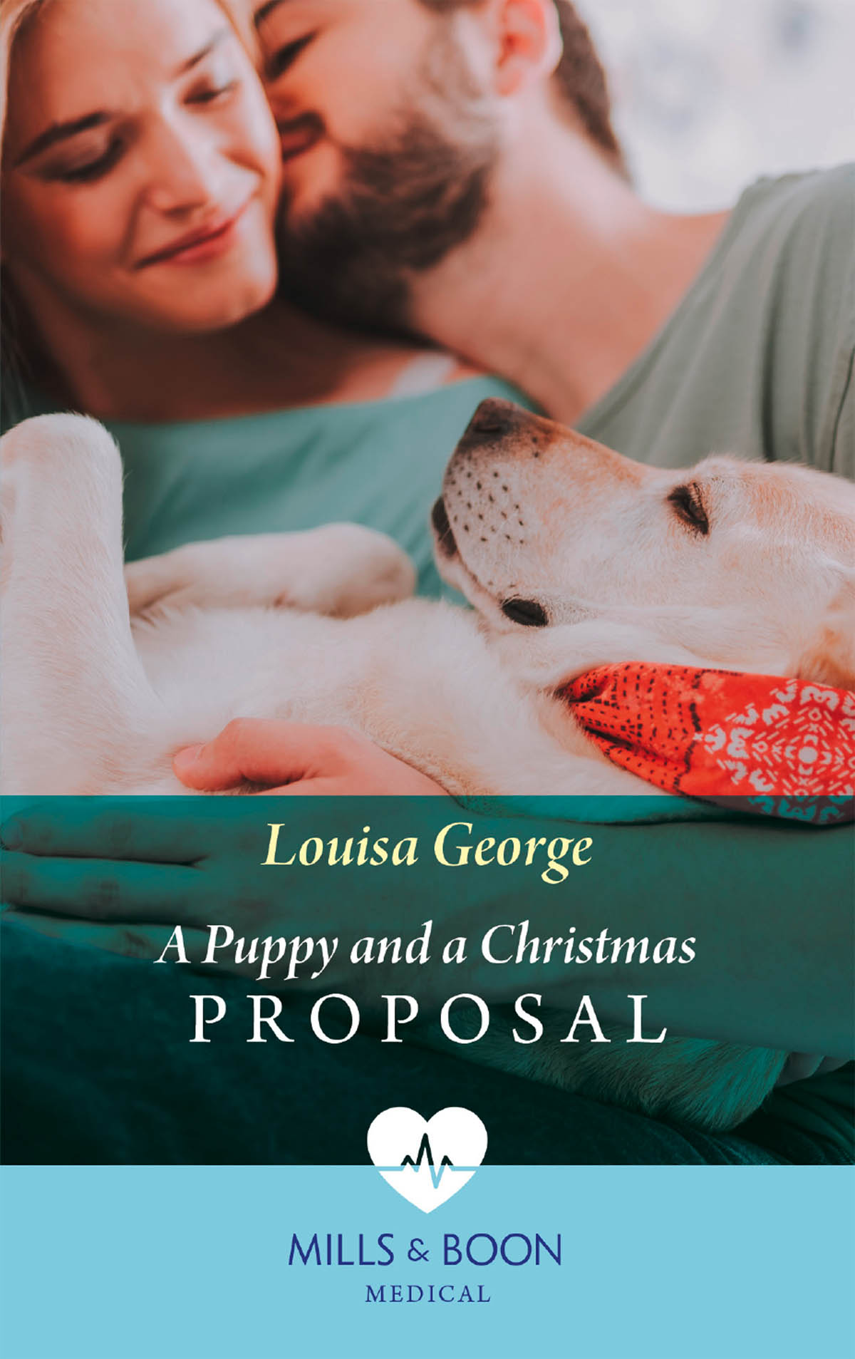 Louisa George A Puppy And A Christmas Proposal cover her face