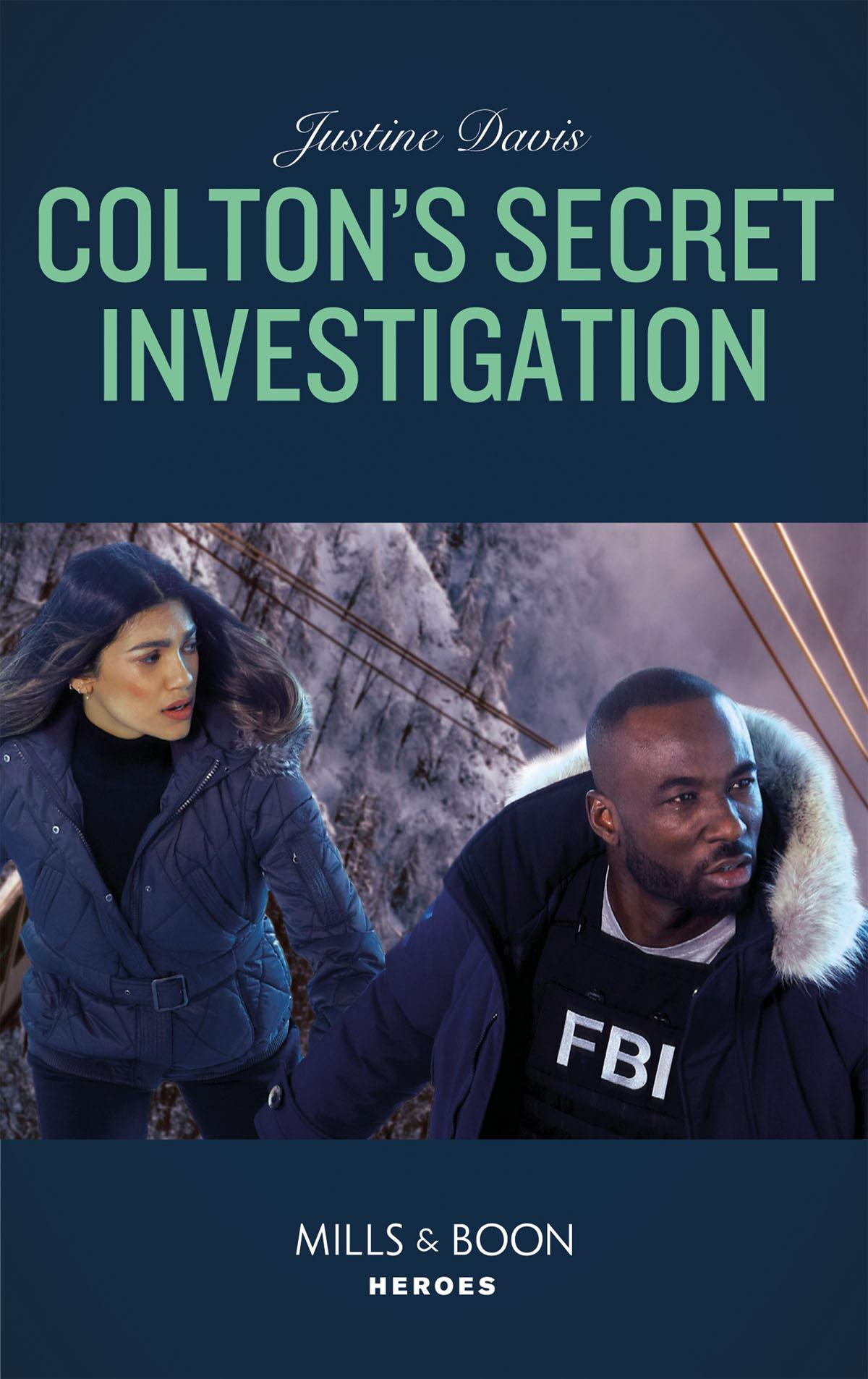 Justine Davis Colton's Secret Investigation цена