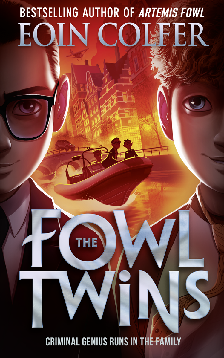 Eoin Colfer The Fowl Twins artemis fowl and the opal deception