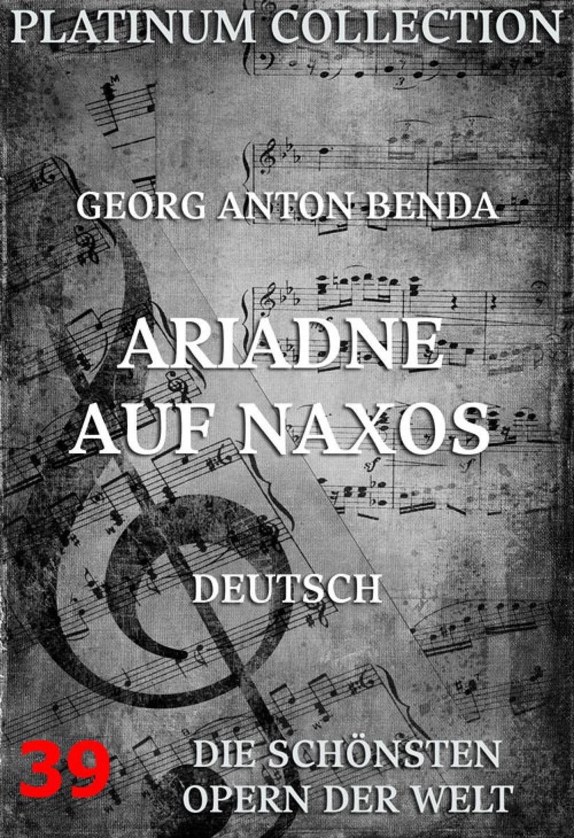 Georg Anton Benda Ariadne auf Naxos g benda sammlung italienischer arien