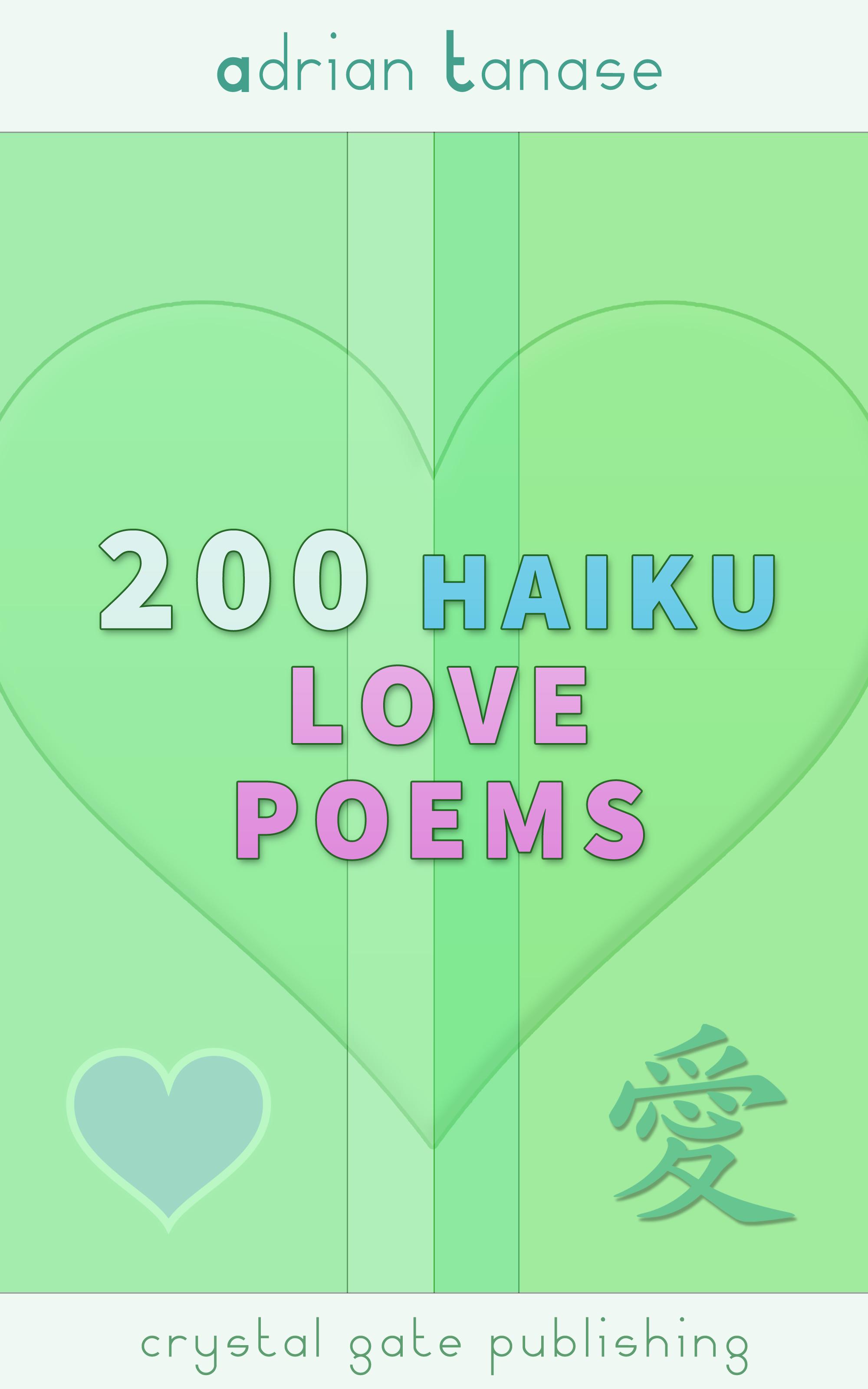 Adrian Tanase 200 Haiku Love Poems настольная лампа odeon light pika 2596 1t