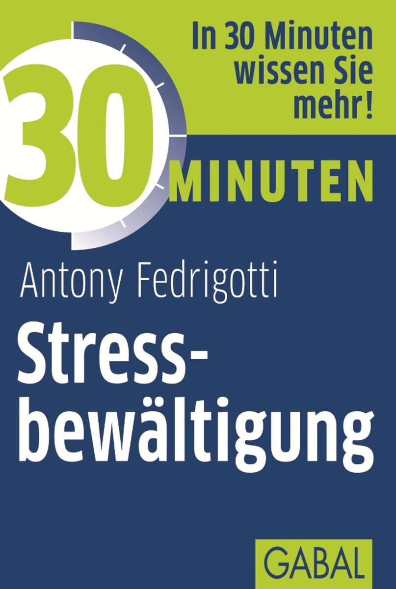 Antony Fedrigotti 30 Minuten Stressbewältigung joachim skambraks 30 minuten elevator pitch