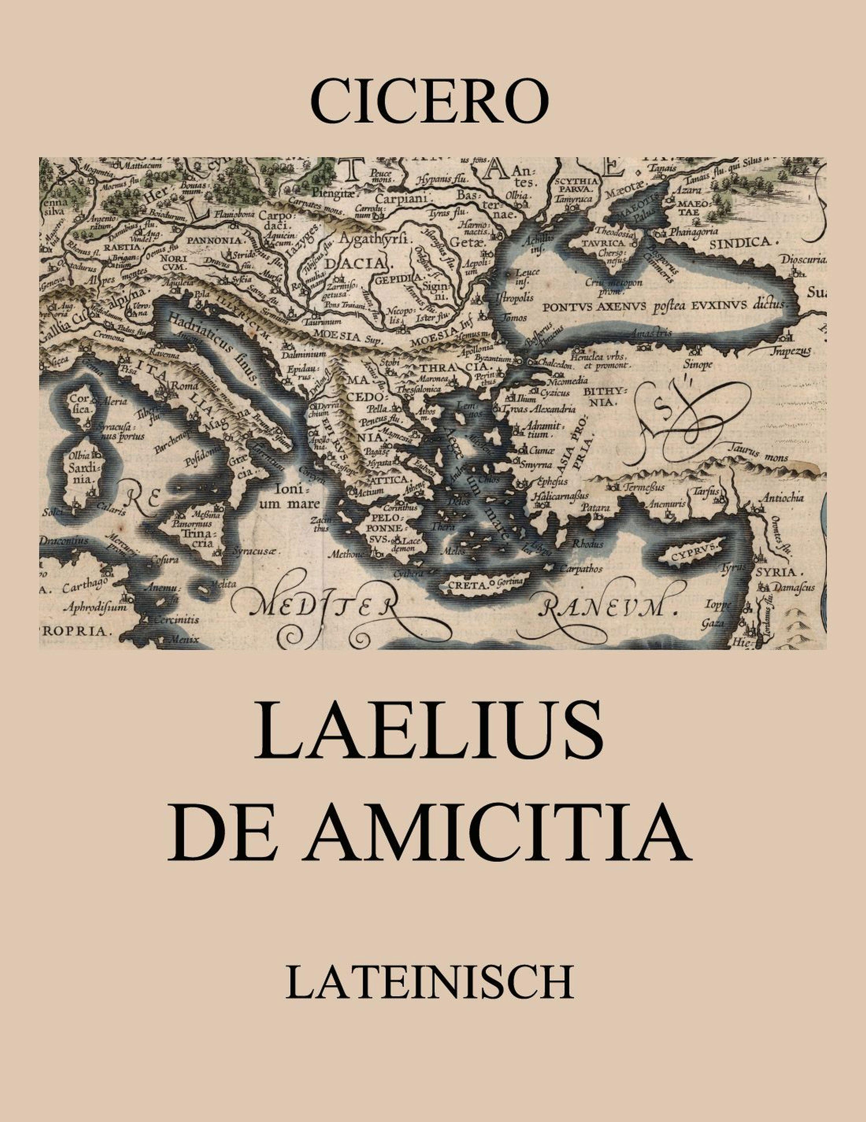 цены Cicero Laelius de amicitia