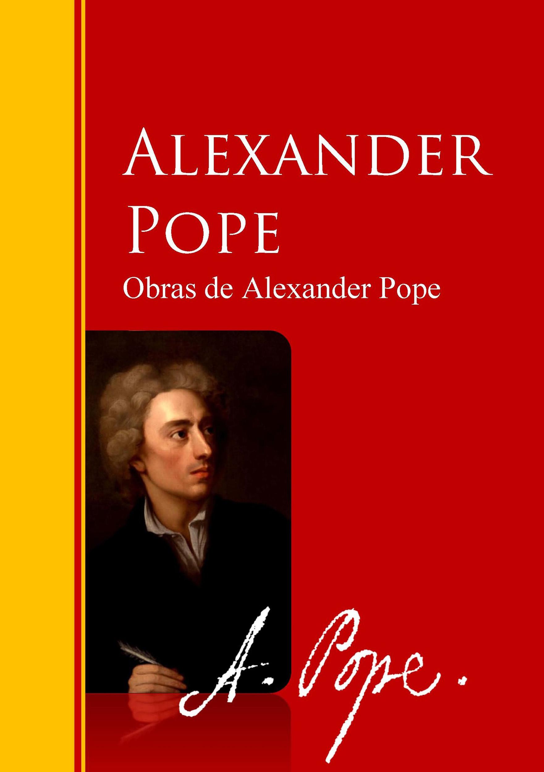 Alexander Pope Obras de Alexander Pope baby alexander