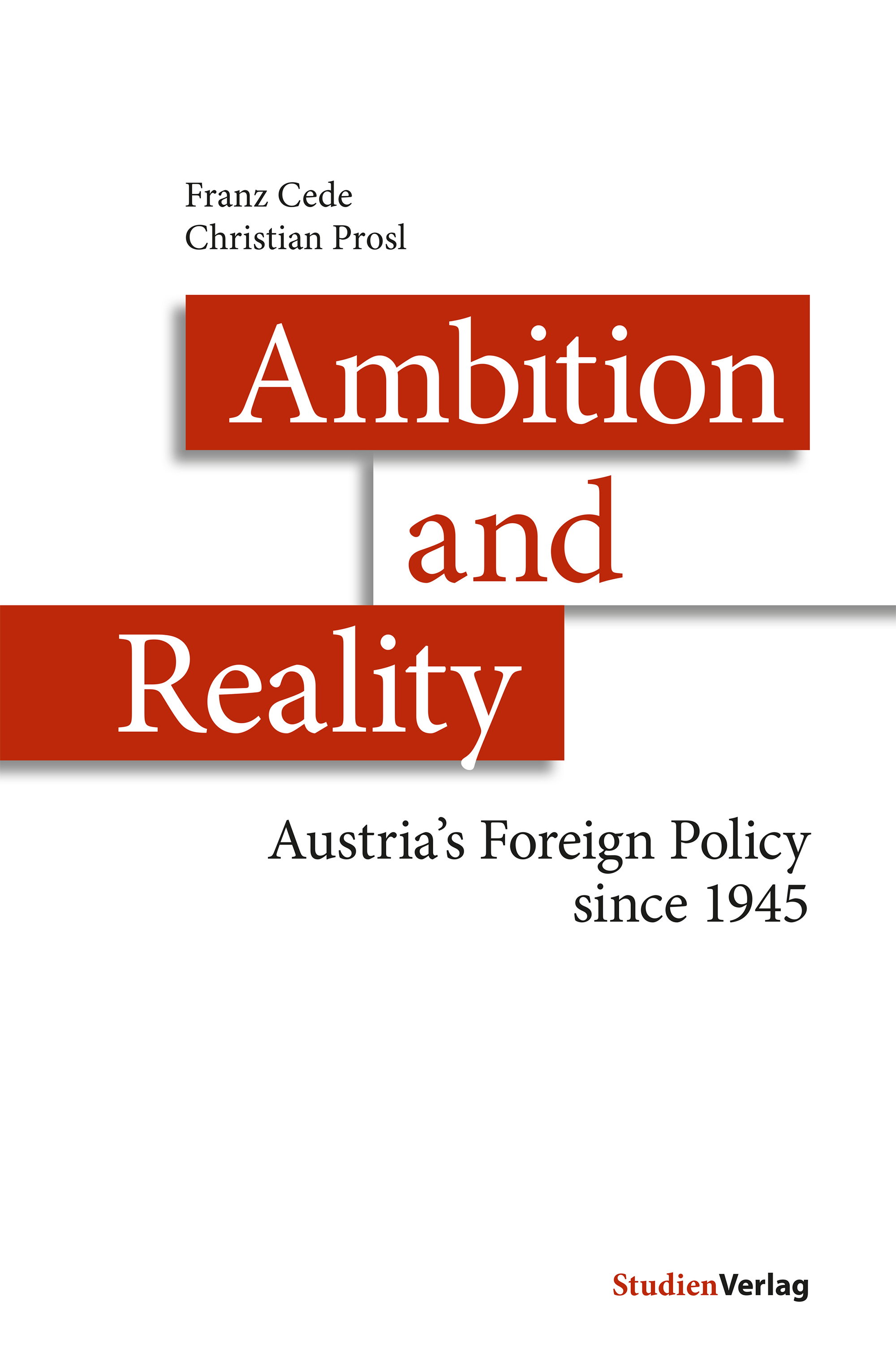 Franz Cede Ambition and Reality