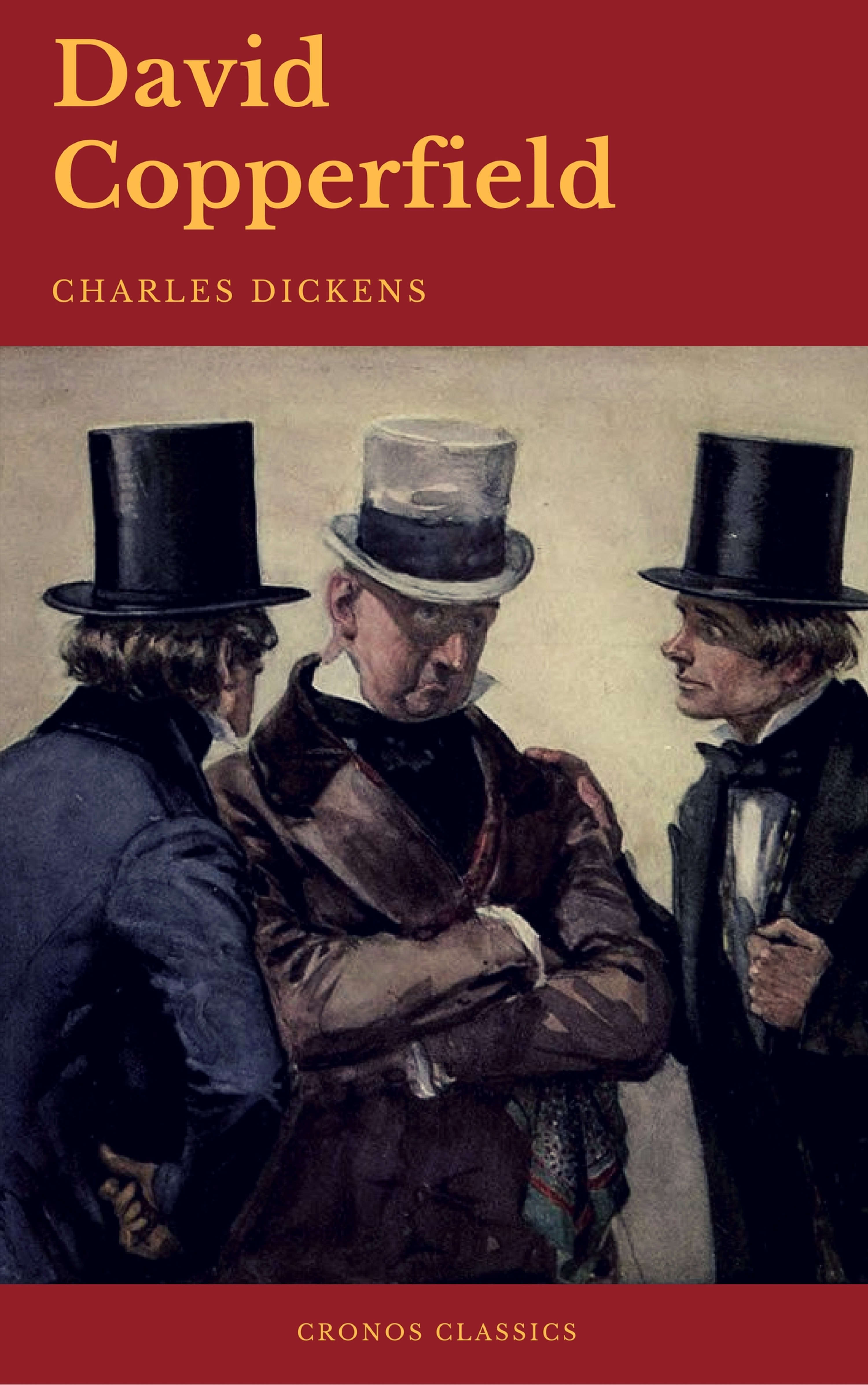 Charles Dickens David Copperfield (Cronos Classics) charles dickens barnaby rudge cronos classics