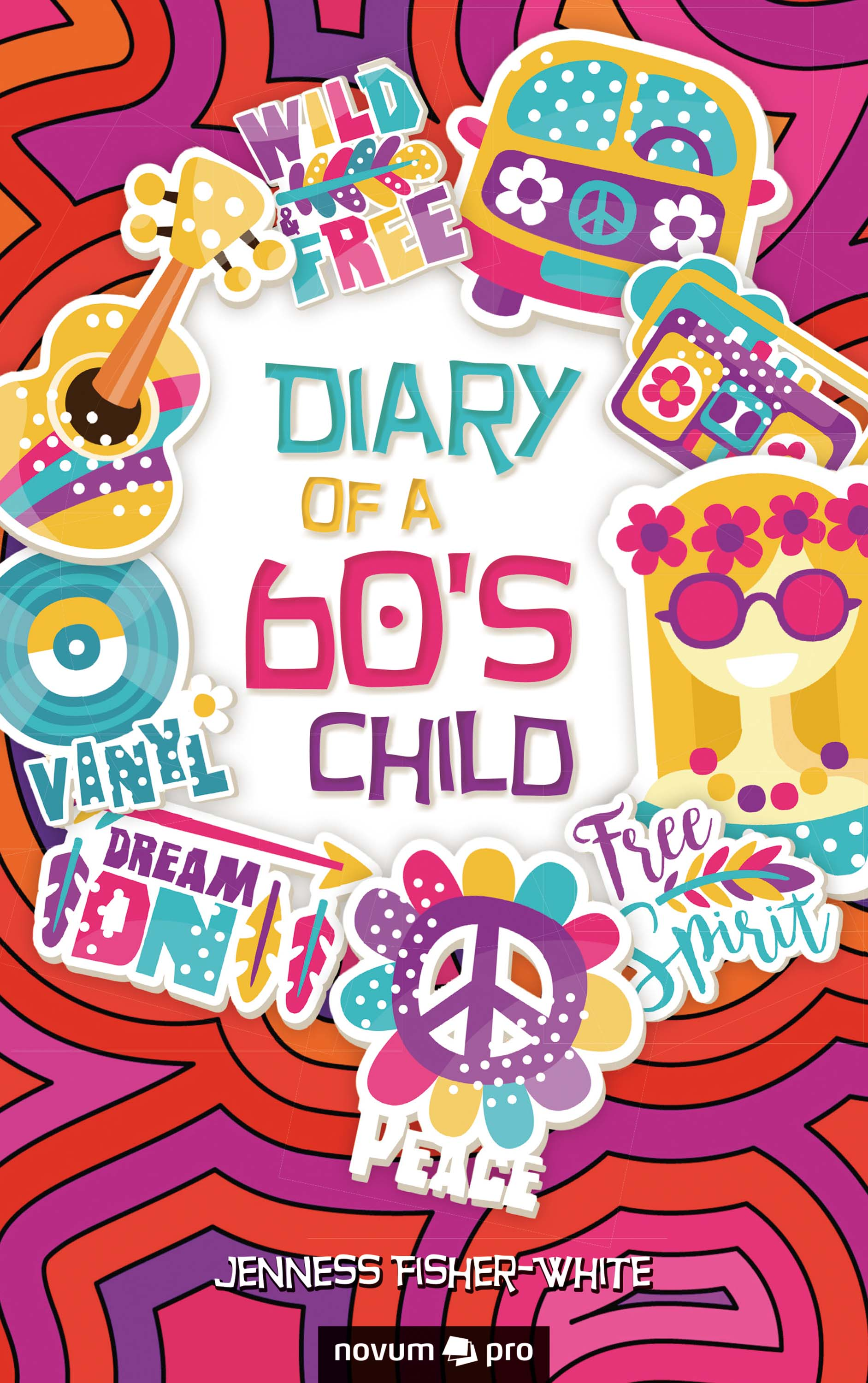 Jenness Fisher-White Diary of a 60's Child xuanxuan diary black s