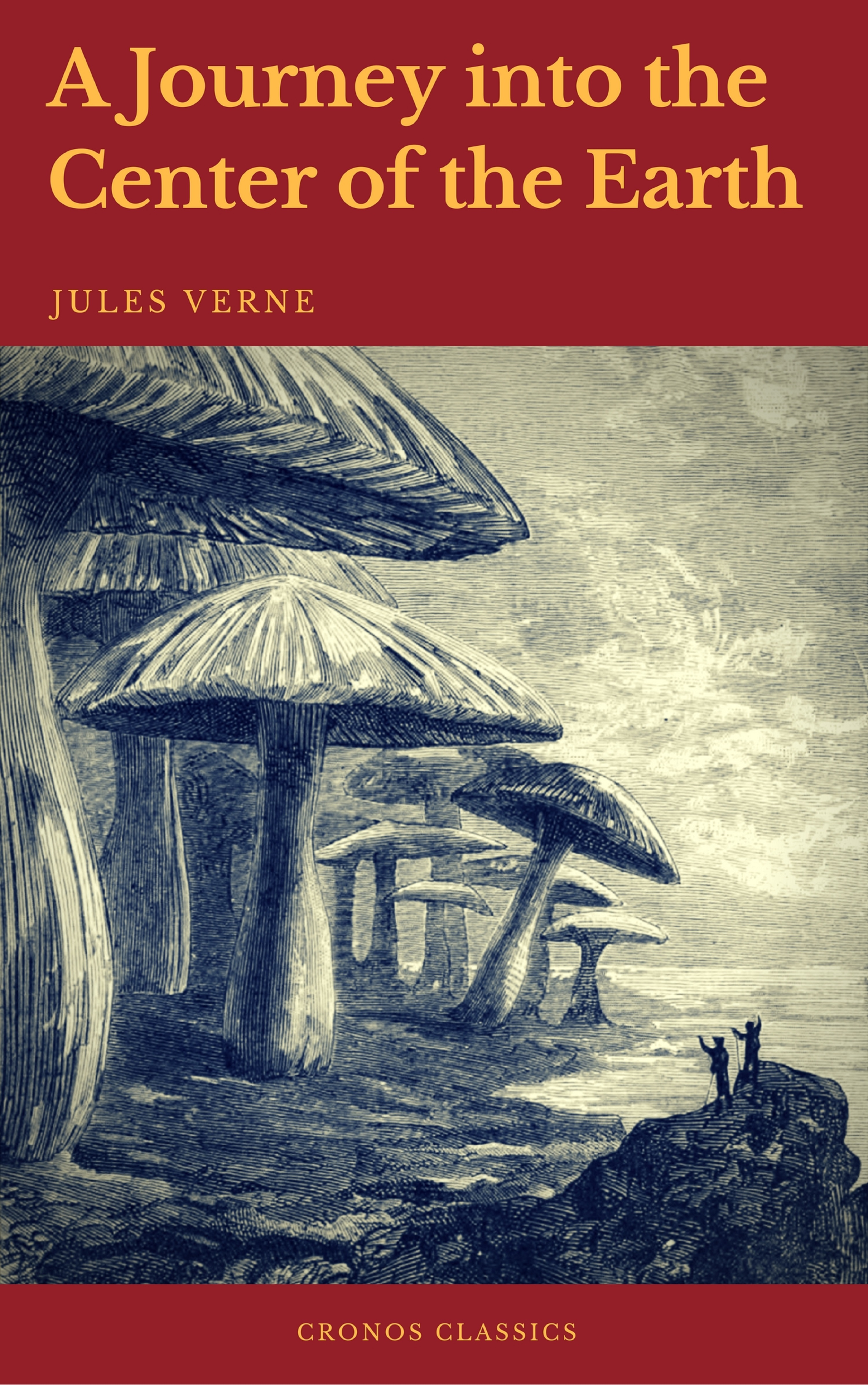 A Journey into the Center of the Earth (Cronos Classics) ( Жюль Верн  )