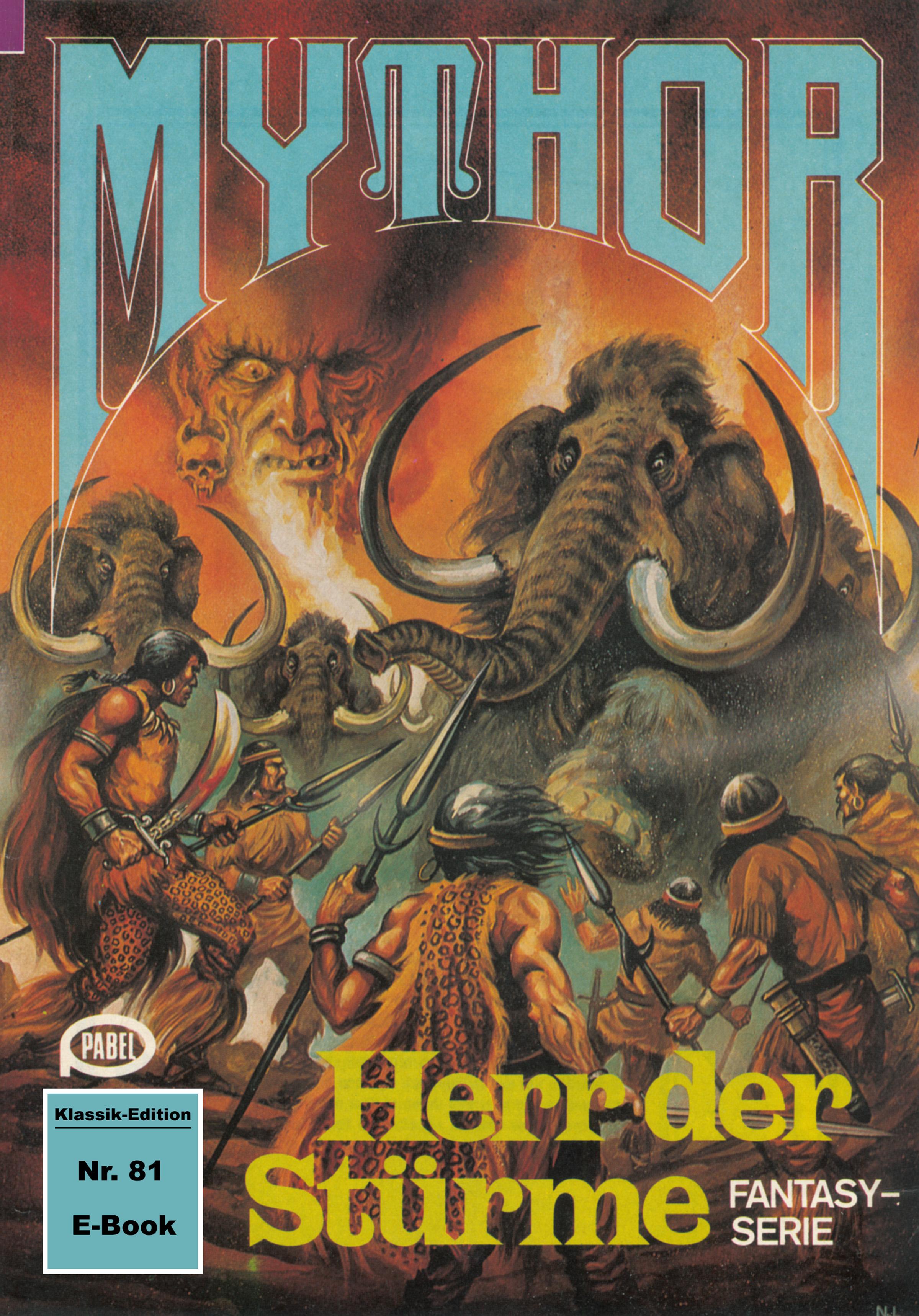 Mythor 81: Herr der Stürme ( Hugh Walker  )