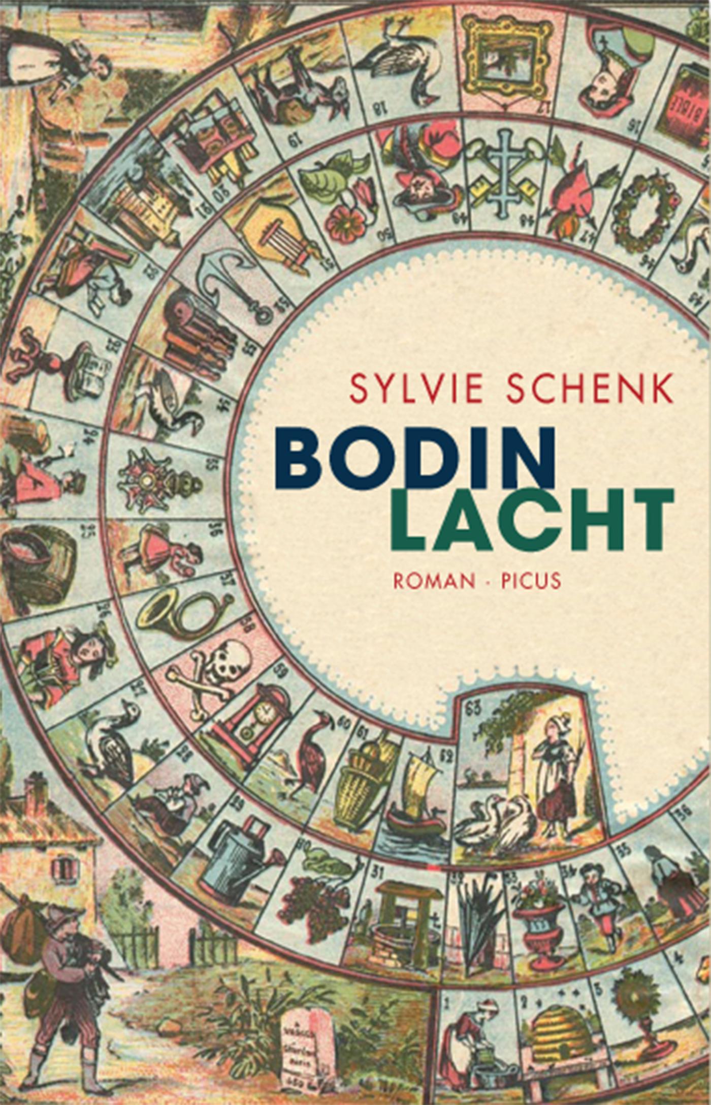 Bodin lacht ( Sylvie  Schenk  )