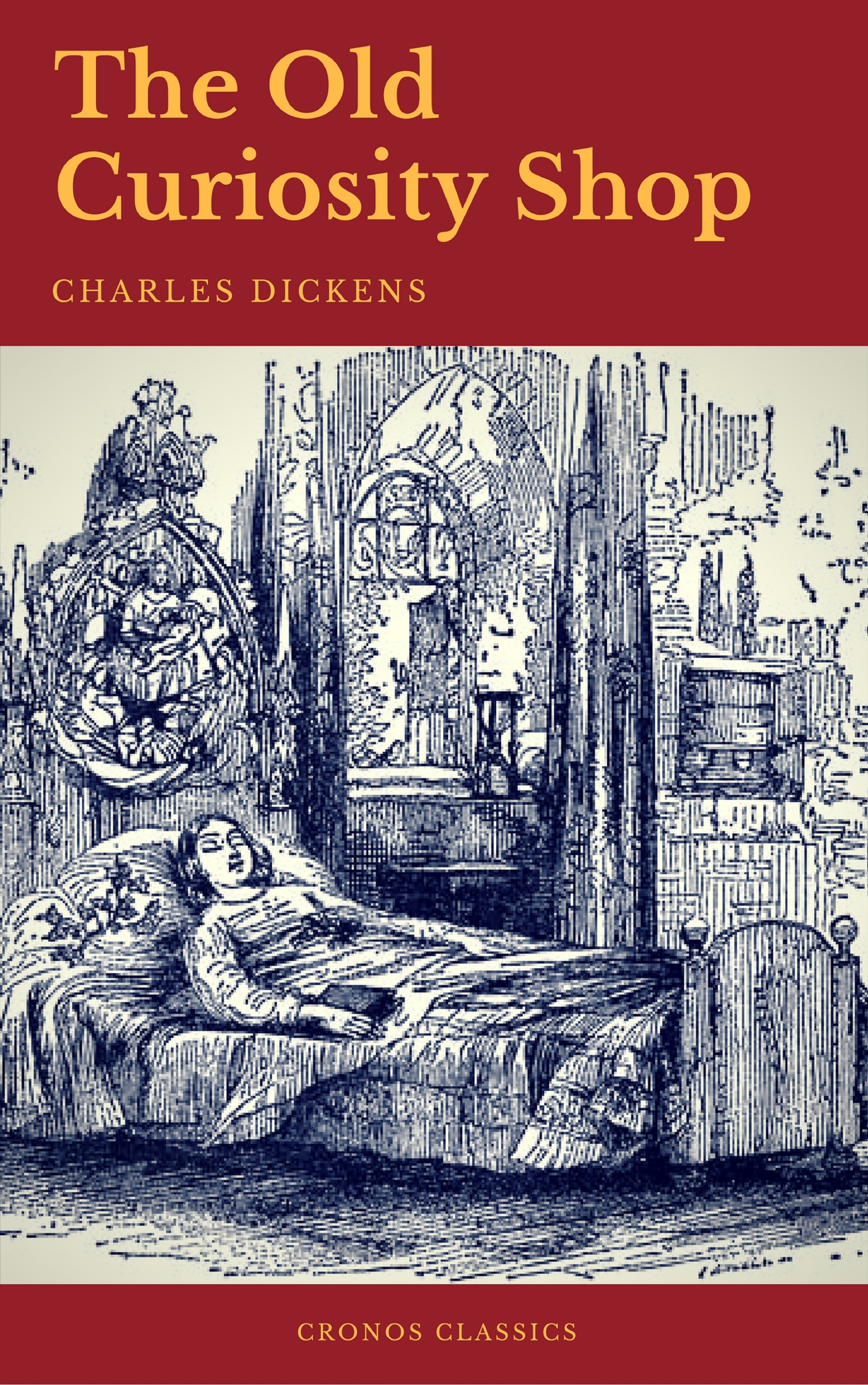Charles Dickens The Old Curiosity Shop (Cronos Classics) charles dickens barnaby rudge cronos classics