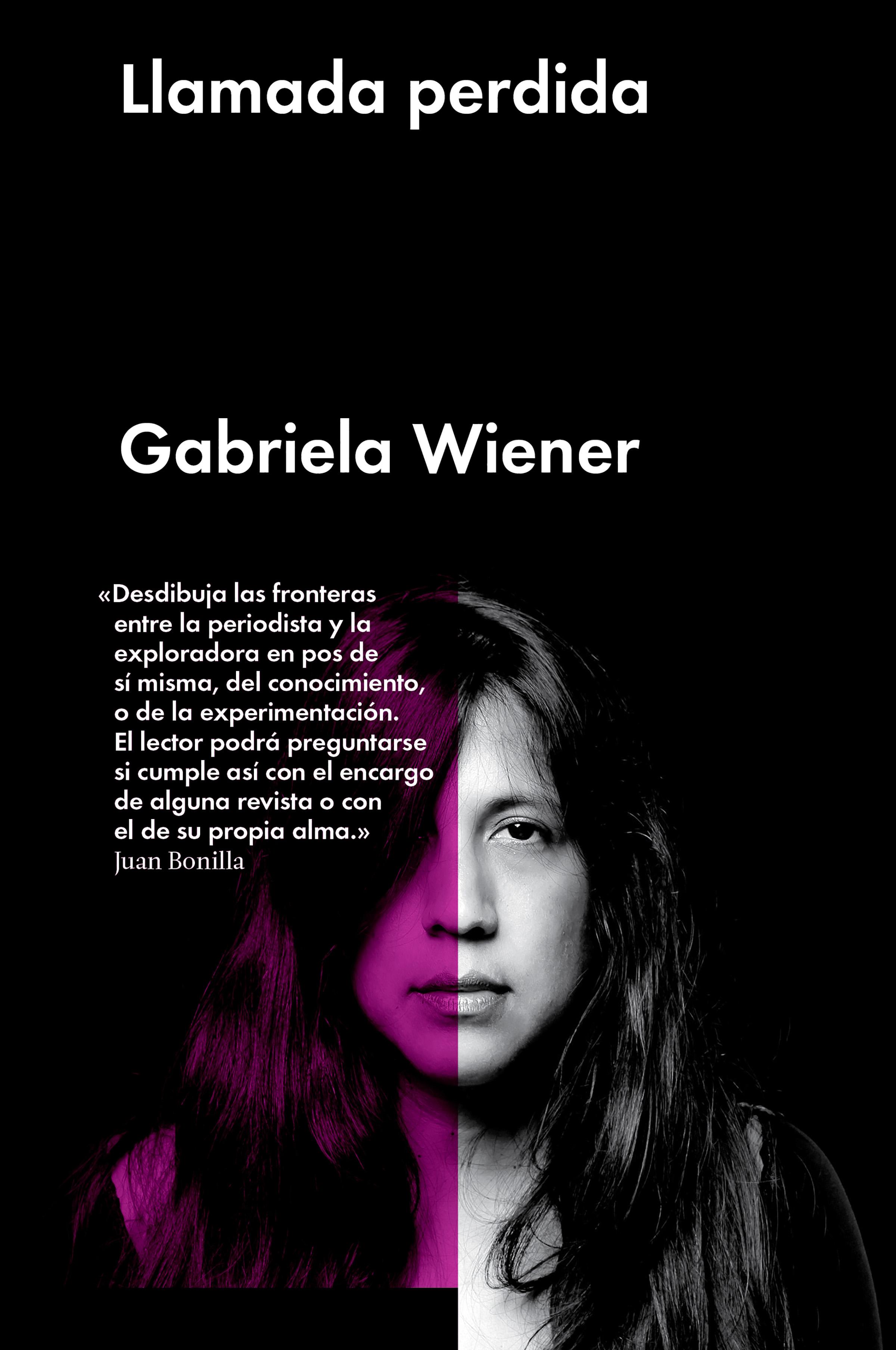 Gabriela Wiener Llamada perdida
