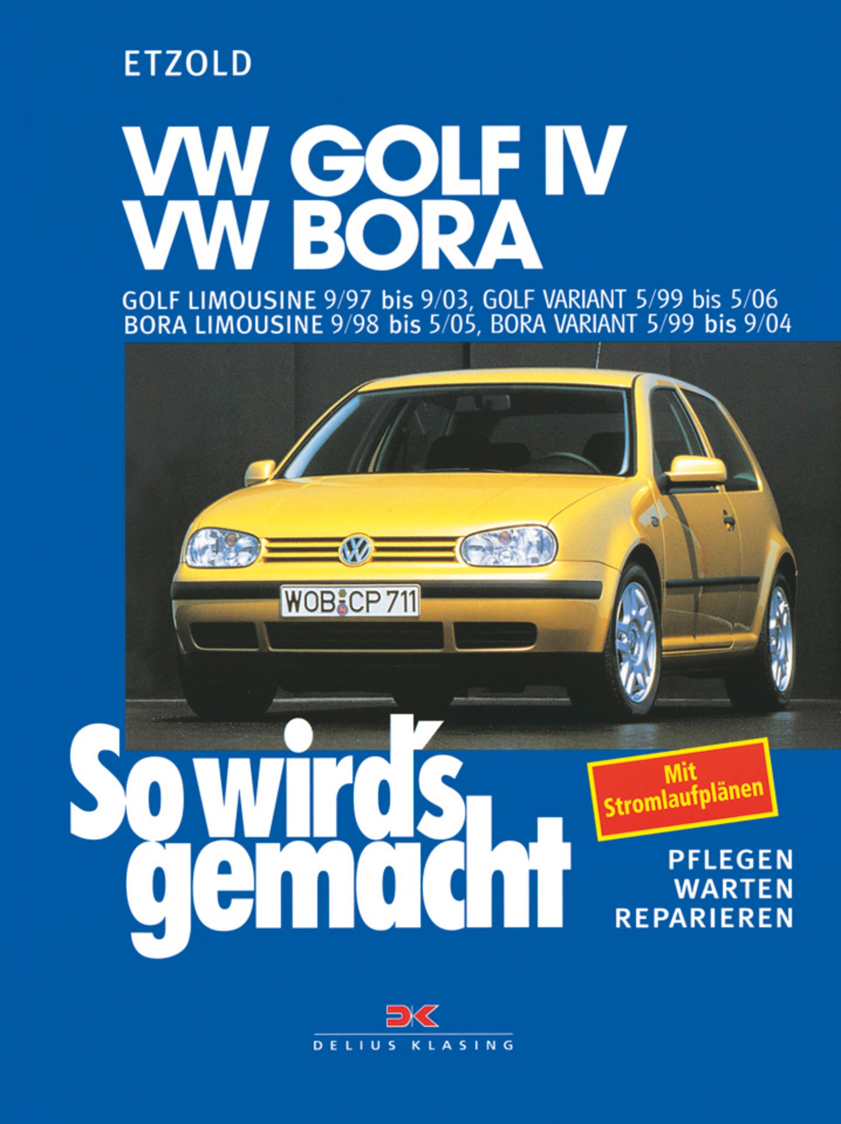 Rüdiger Etzold VW Golf IV 9/97 bis 9/03, Bora 9/98 5/05